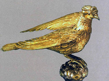Dove of the Holy Spirit-Holy Mother of God Church, Beşiktaş, Istanbul, now in Patriarchal Museum.