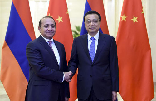 Armenia-China-PM