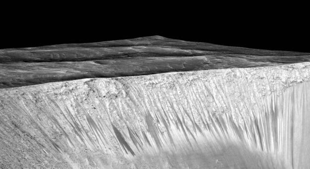 Garni-crater