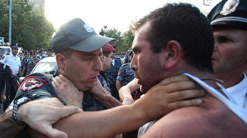 Police-Activist