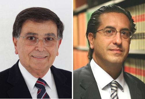 Antranik Baghdassarian, President Armenia Fund, and Khoren Bandazian, Esq., President, Armenia Fund USA