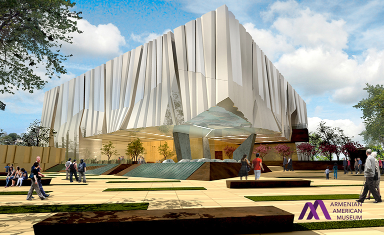 Armenian-American-Museum-Exterior