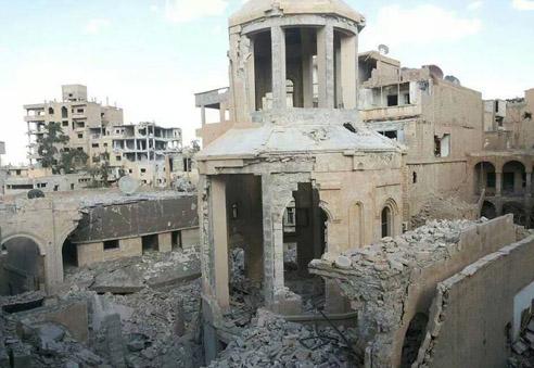 Deir-Zor-Armenian-Martyrs-Church-collapsed