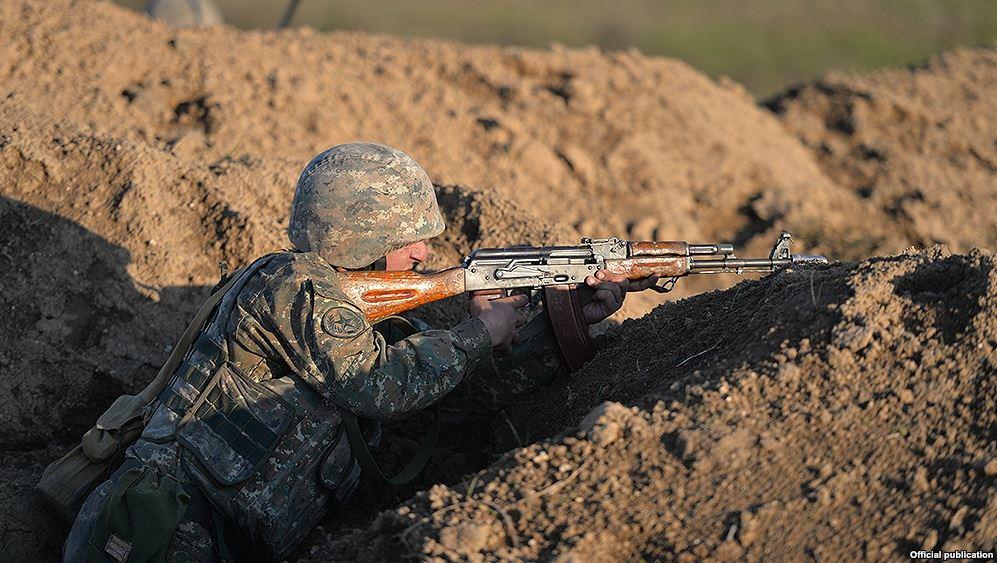 Karabakh front line