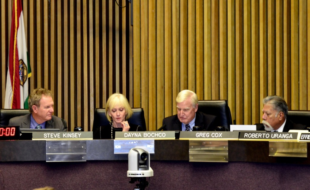 Coastal Commissioners in deliberation before taking a final vote