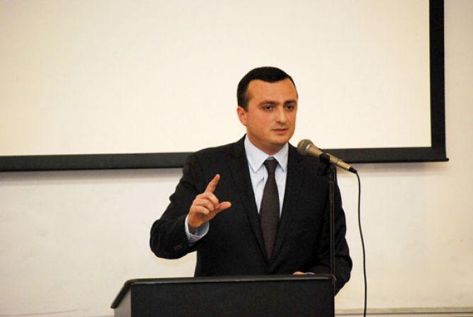 NKR Representative Robert Avetisyan
