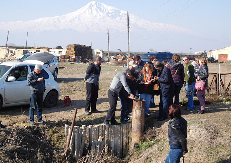 Armenia water work