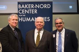 Professor Peter Knox, Richard Hovannisian and Ara Bagdasarian