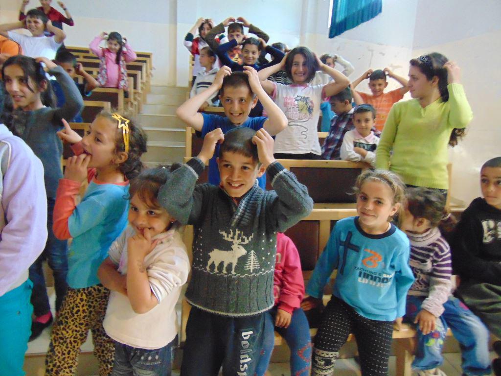Children of Martakert Evacuees enjoying camp Program 4