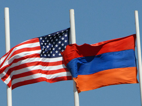 US-Armenia Flags