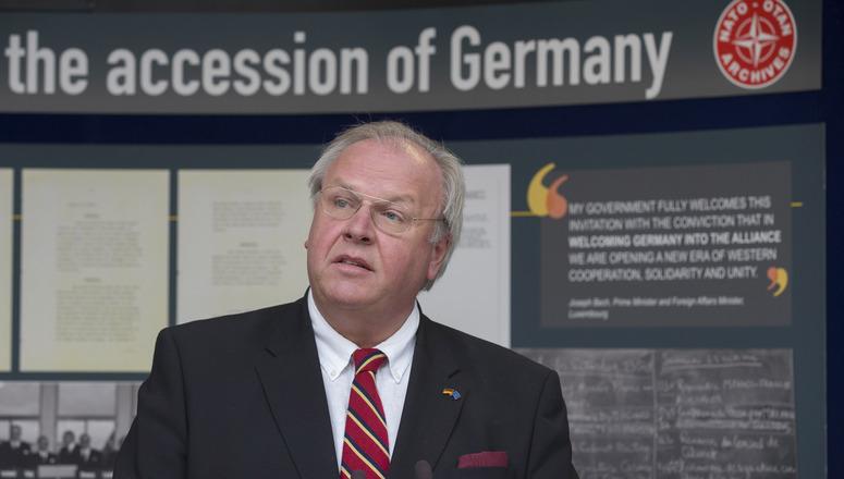 Ambassador Martin Erdmann, Permanent Representative of the Fedreal Republic of Germany to NATO