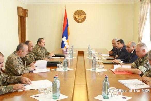 Ohanyan-Sahakian-NKR-Army