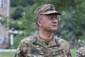 Defense Minister Seyran Ohanian