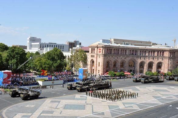 Armenia Showcases New Missiles in Independence Day Parade