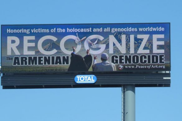 Armenian Genocide Awareness Campaign Billboards: A Message of Peace to Turkey