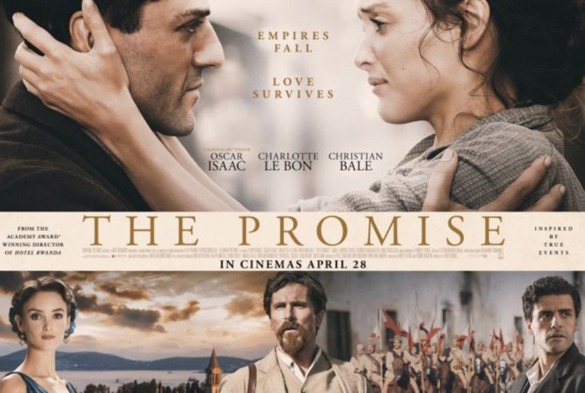 """10 Celebrities Promoting """"The Promise""""   Armenian News By ..."""