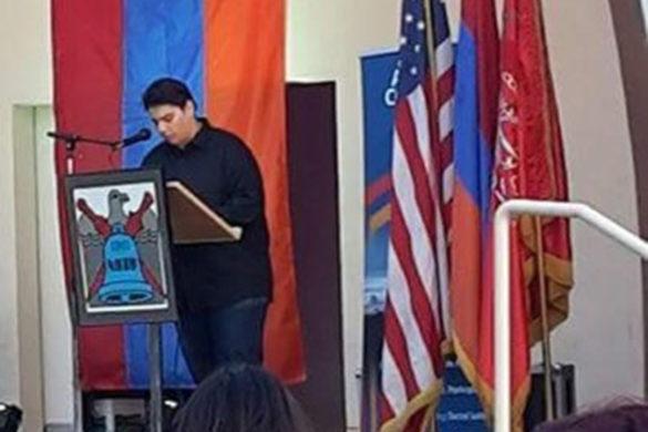 Gaidz Youth Organization Commemorates Genocide in Pasadena