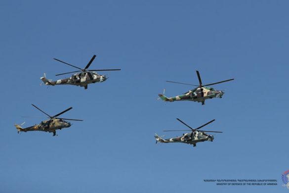 Armenia's Air Force Marks 25th Anniversary of Establishment