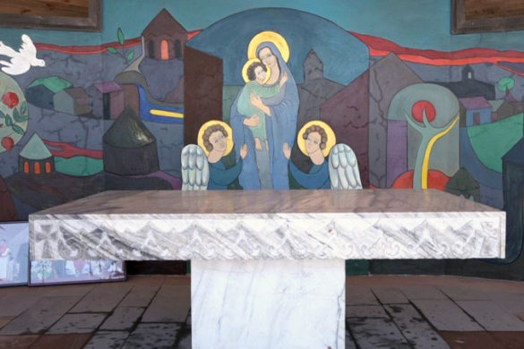 Monument Unveiled in Gyumri on Anniversary of Pope Francis's Visit